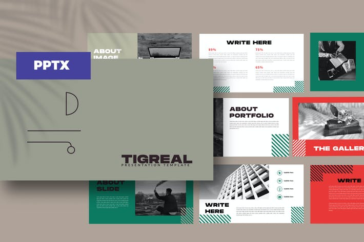 Thumbnail for Tigreal - Powerpoint Business Corporate