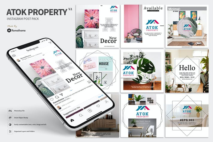 Thumbnail for Atok - Immobilien Instagram Post HR