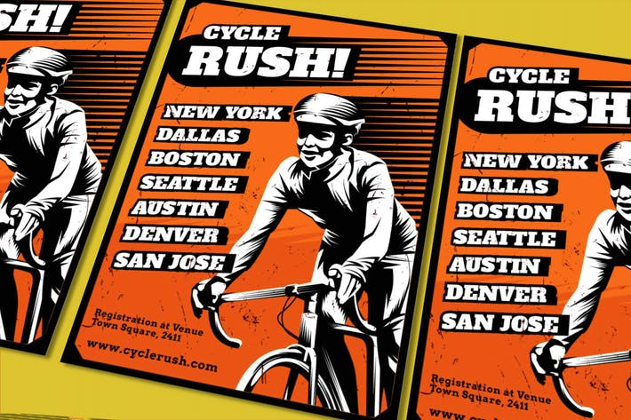 Thumbnail for Cycle Rush Flyer