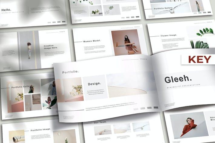 GLEEH - Минимальные Keynote ки