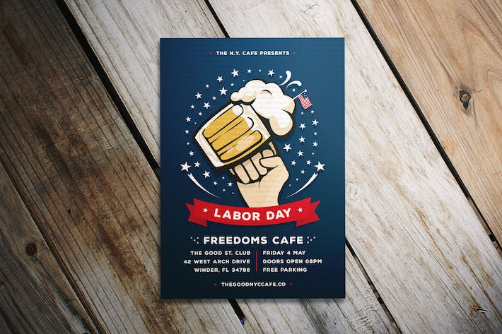 Thumbnail for Labor Day Happy Hour Flyer