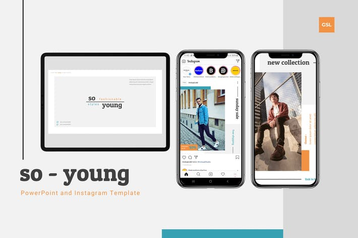 Thumbnail for So Young - Google Slides & Instagram Template