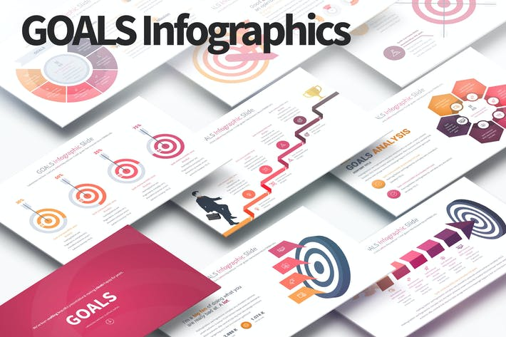 Thumbnail for GOALS - PowerPoint Infographics Slides