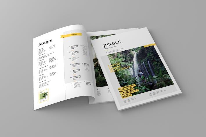 Jungle - Magazine Template