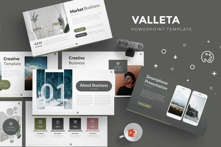 Cover Image For Valleta - Powerpoint Template