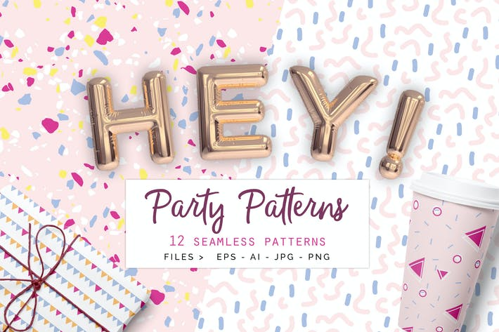 Thumbnail for Party Patterns set of 12