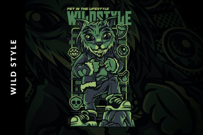 Thumbnail for Wild Style Illustration