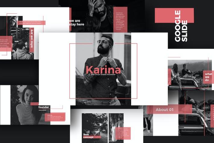 Thumbnail for KARINA - Google Slide