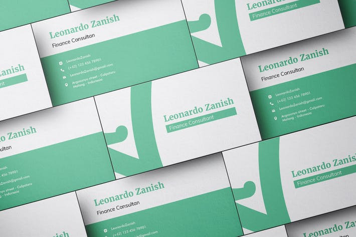 Finance and Investment Company Business Card