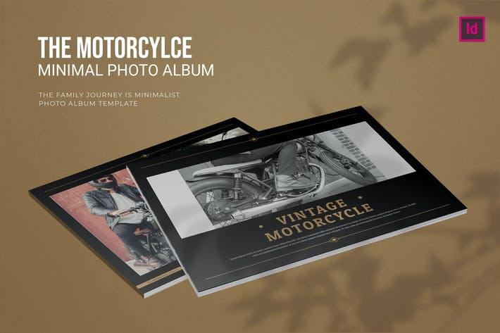 Thumbnail for Vintage Motorcycle - Photo Album