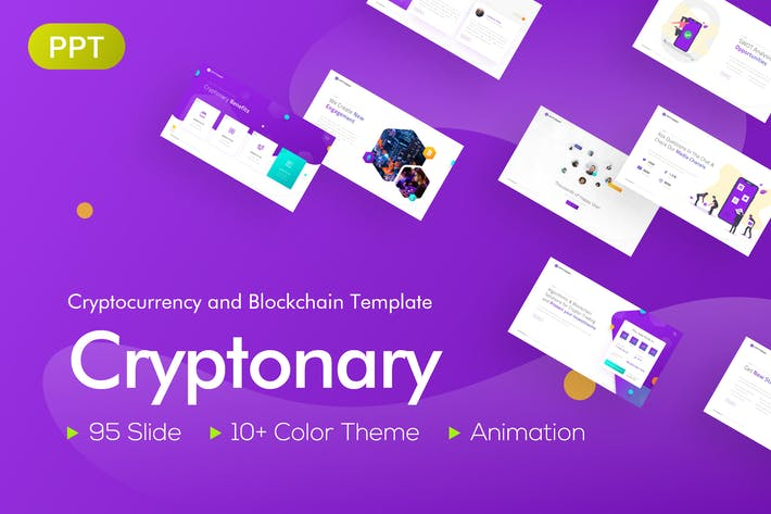 Cryptonary Cryptocurrency PowerPoint Template