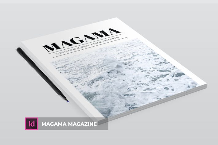 Thumbnail for Magama | Magazine Template