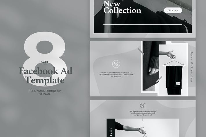 Thumbnail for Facebook Ad Template Vol.3