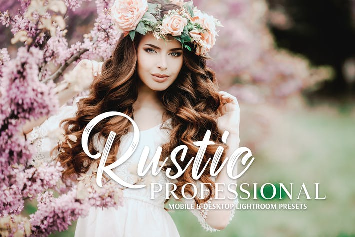 Thumbnail for Rustic Pro Mobile & Desktop Lightroom Presets