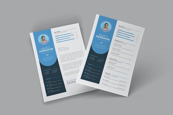 Thumbnail for Scral CV Resume