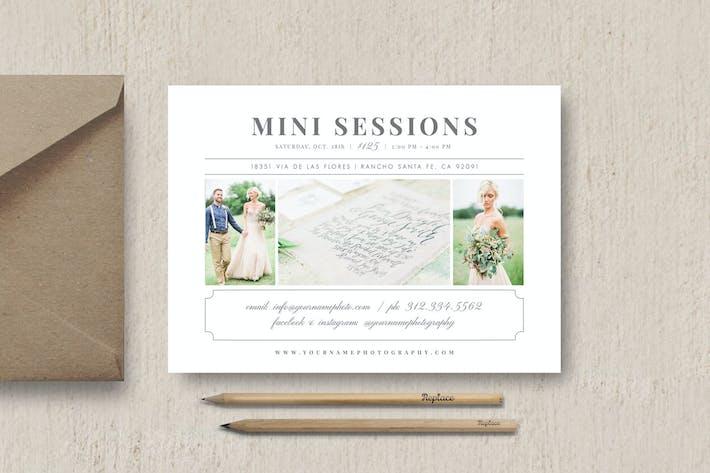 Thumbnail for Photographer Mini Session Template