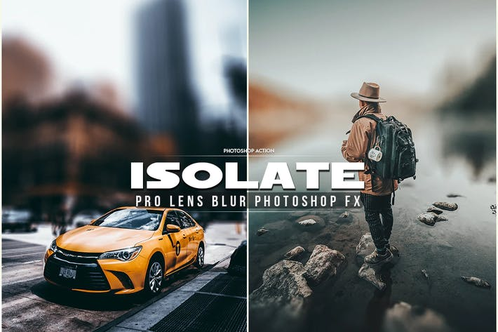 Thumbnail for Isolate Photoshop Action