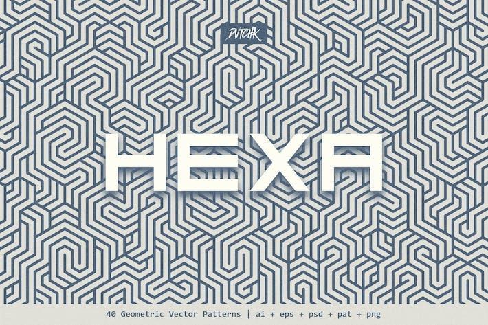 Hexa   Geometrische Vektormuster