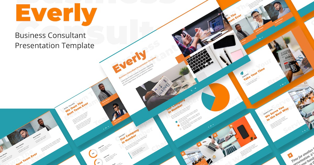 Download Business Consultant Keynote Templates by deTheme