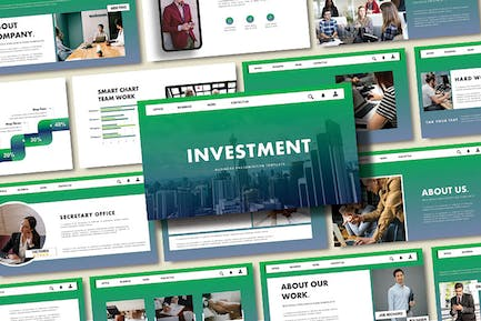 INVESTMENT - Business Powerpoint Template