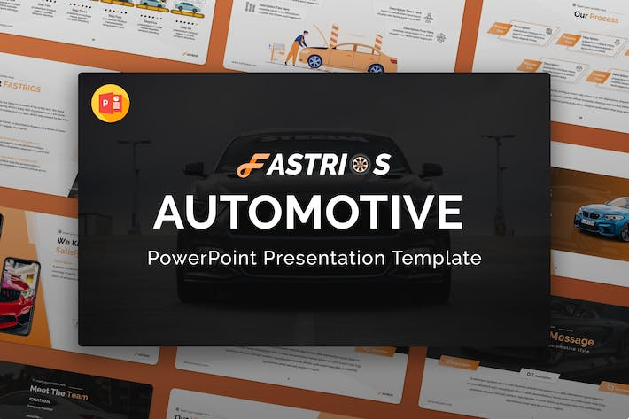 Fastrios – Automotive PowerPoint Template