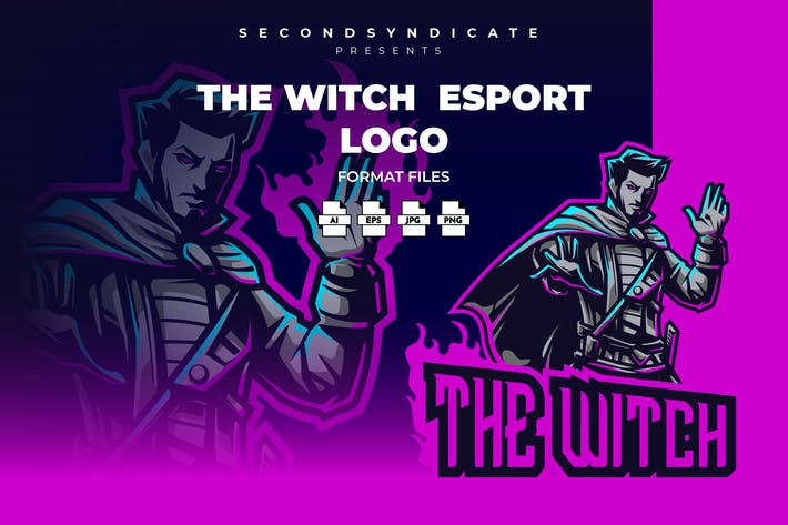Thumbnail for The Witch Esport Logo