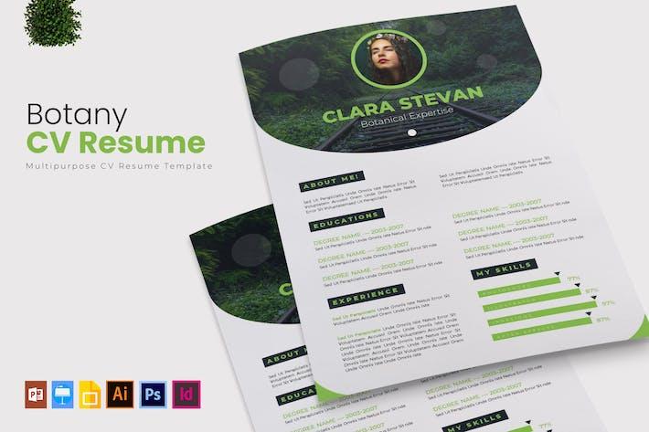 Thumbnail for Botany | CV & Resume