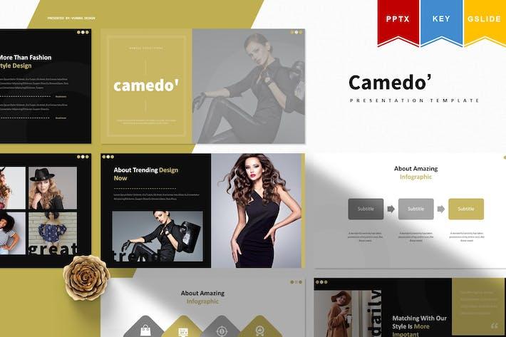 Thumbnail for Camedo | Powerpoint, Keynote, Googleslide