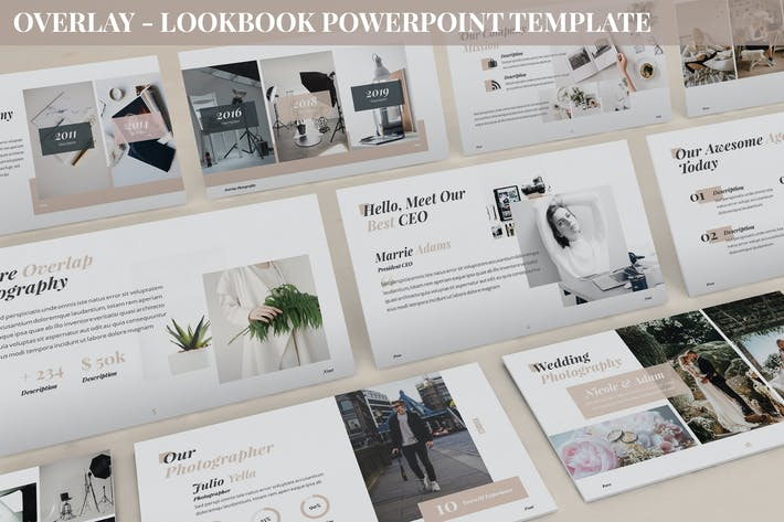 Cover Image For Overlay - Lookbook Powerpoint Template