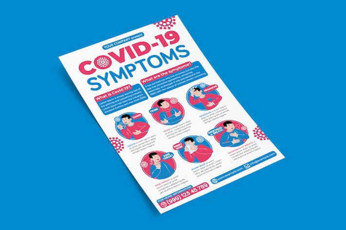 Thumbnail for Covid-19 Symptoms Flyer