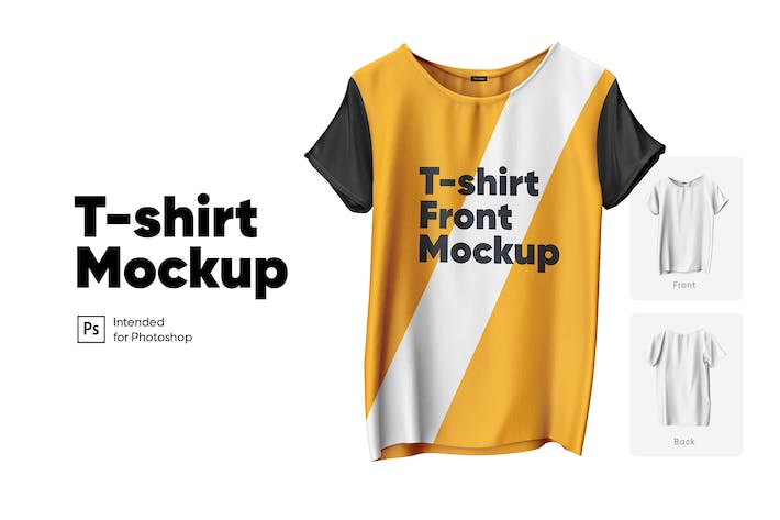 Thumbnail for T-shirt Mockup Set