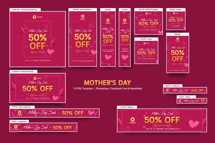 Thumbnail for Mother's Day Banners Ad