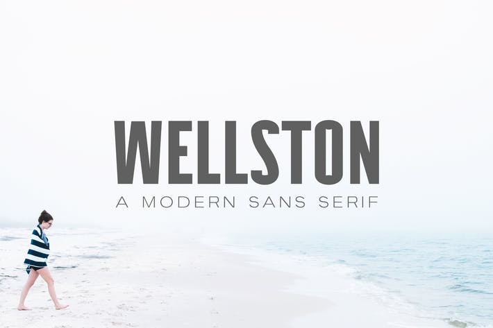 Thumbnail for Wellston Modern Sans Serif Font