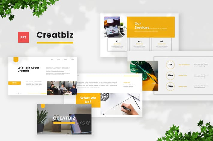 Thumbnail for Creative Business PowerPoint Template