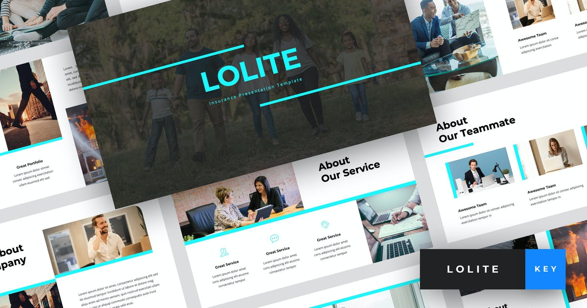 Download Lolite - Insurance Keynote Template by StringLabs
