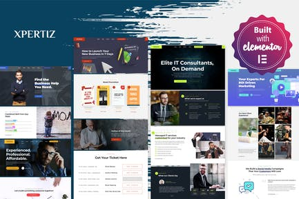 Xpertiz - WordPress Theme For Advisors And Experts