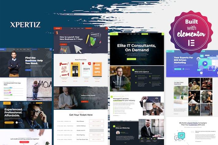 Thumbnail for Xpertiz - Thème WordPress pour les conseillers et les experts