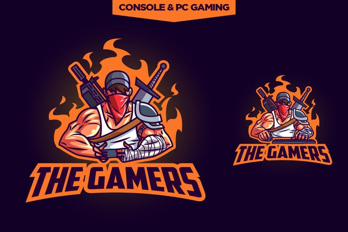 Cover Image For Esports Professional Gamers Logo