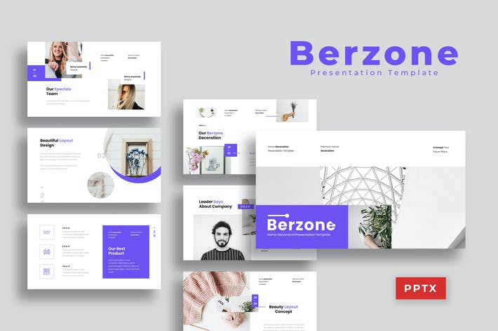 Thumbnail for Berzone - Presentation Presentation Template