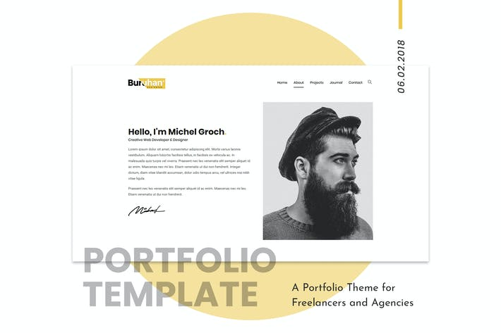 Thumbnail for Buruhan | Freelancers y Agencias WordPress Tema