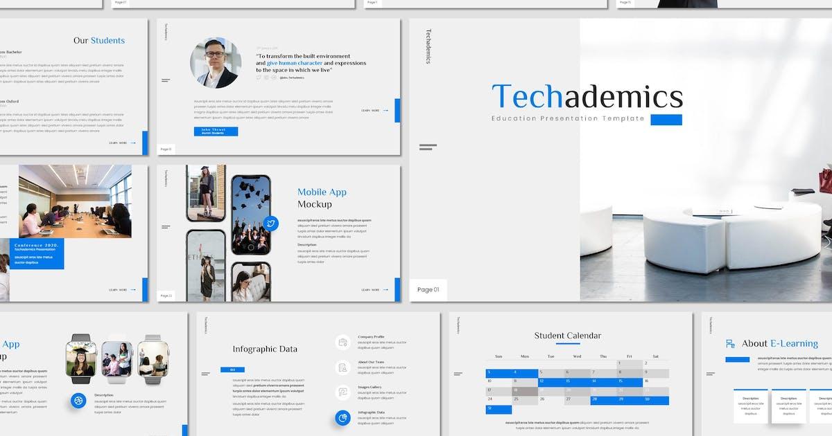 Download Techademics - Education Keynote Template by invisualstudio