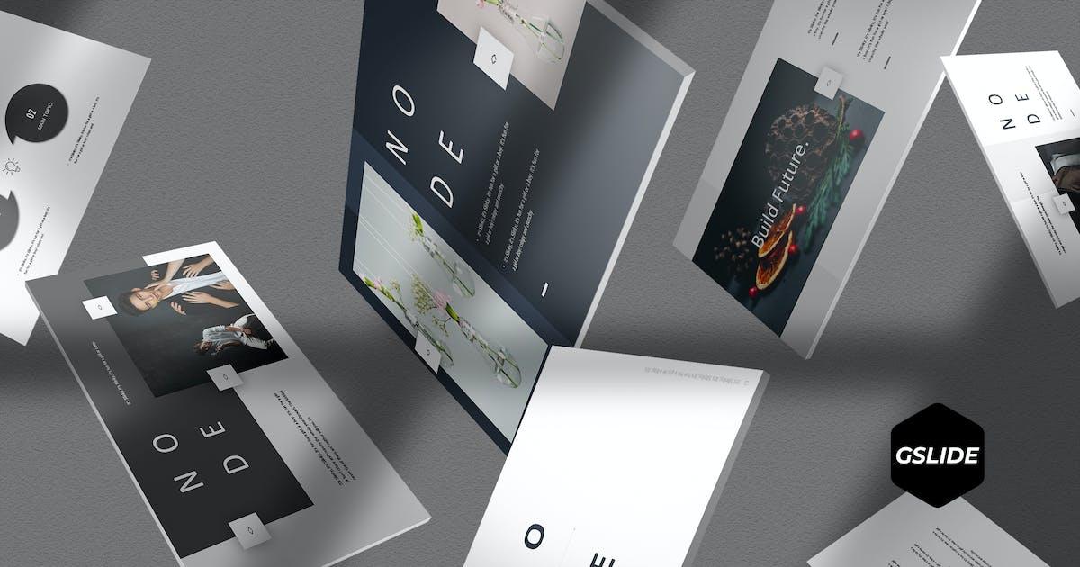 Node - Google Slide Template by aqrstudio