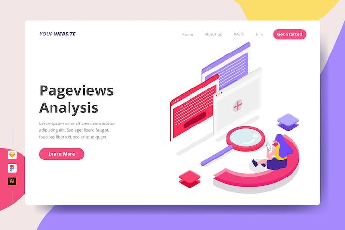 Pageviews Analysis - Landing Page
