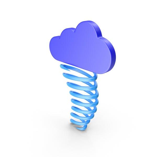Thumbnail for Tornado Meteorology Symbol