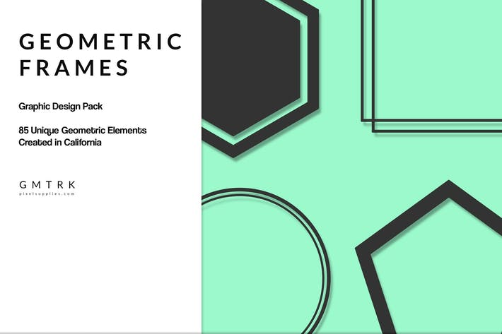 Thumbnail for Geometric Frames Design Kit