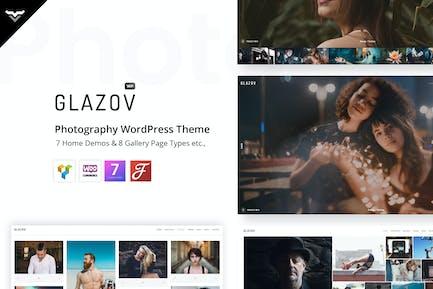Glazov - Photography WordPress Theme