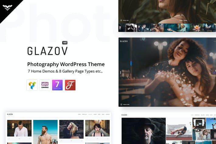 Thumbnail for Glazov - Photography WordPress Theme