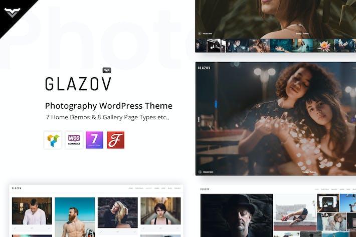 Thumbnail for Glazov - Fotografía WordPress Tema