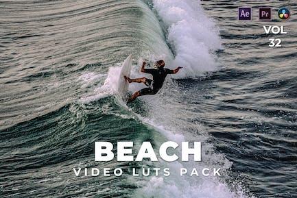 Beach Pack Video LUTs Vol.32