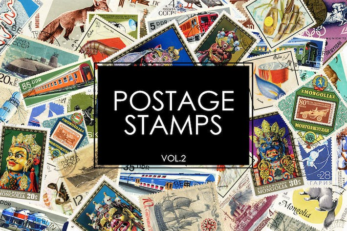 Thumbnail for Postage Stamps vol.2